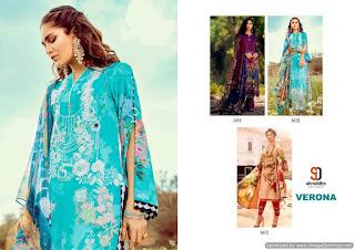 Shraddha Designer Verona Lawn Pakistani Suits