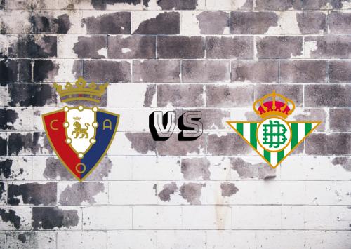 Osasuna vs Real Betis  Resumen
