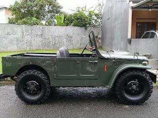 BURSA MOBIL KLASIK BANDUNG : Dijual Fiat Campagnola thn 1964