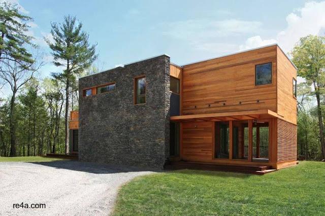 Vivienda familiar prefabricada modular completada