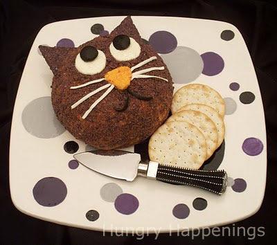 Black Cat Cheeseball