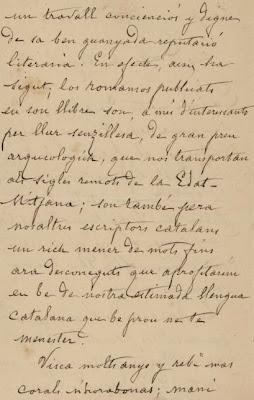 Carta de Carles Bosh de la Trinxeria a Marià Aguiló (2)