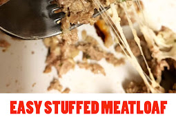 EASY STUFFED MEATLOAF – KETO / LOW CARB