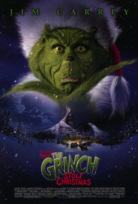 how the grinch stole christmas jim carrey movie - Best Christmas Comedies