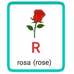 r- alphabet in spanish