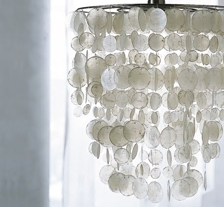 capiz shell chandelier west elm