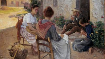 Famille italienne (1900), Elin Danielson Gambogi