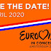 Holanda: 'Eurovision in Concert 2020' agendado para 4 de abril