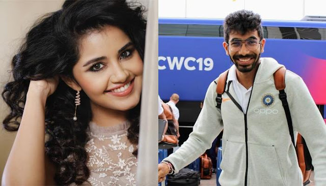 Indian Cricketer, Jasprit Bumrah Is Dating South Film Actress, Anupama Parameswaran