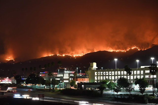 L.A wildfire