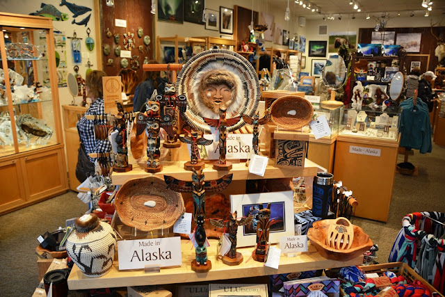 Juneau shopping souvenirs