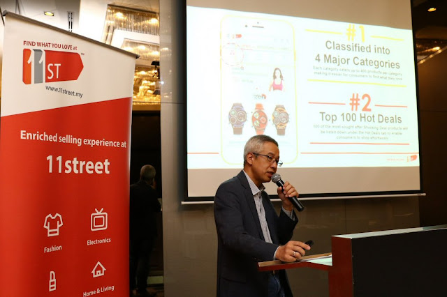 11street MY CEO introduces enhanced mobile app