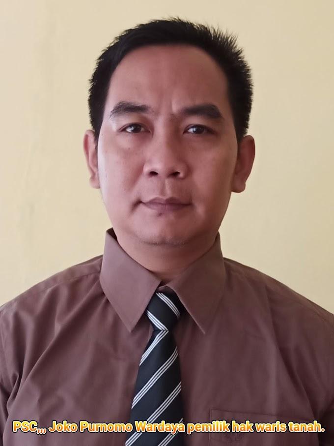 Dengan Senang Hati Joko Purnomo Terima Tantangan Pemdes Beusi Untuk Proses Jalur Hukum