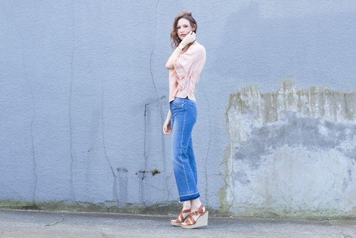 Styling My Life Fashion Blog -- Cropped Flared Jeans