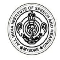 AIISH Mysore Recruitment
