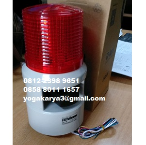 Jual Warning Light Qlight S100DL WS Warning 220VAC di Jakarta
