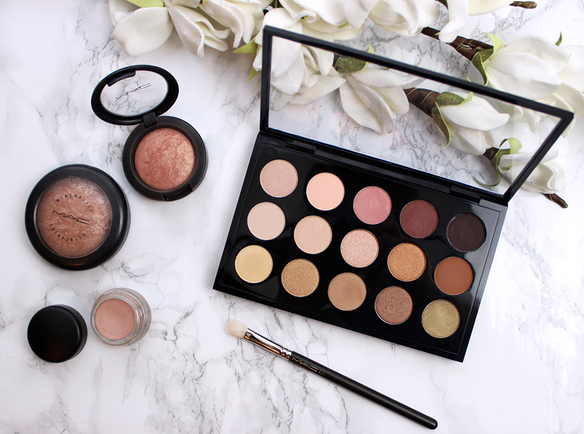 Everyday Makeup Favorites: MAC Cosmetics Eye Shadow x15 Warm Neutrals Review & Swatches!