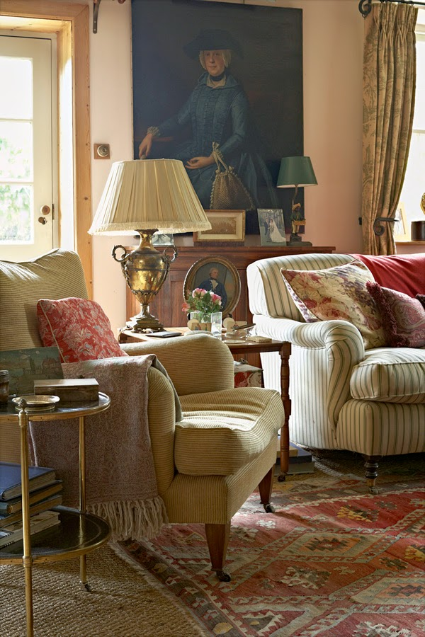British Country Homes: Decor Inspiration English Country House