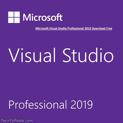 Microsoft Visual Studio Professional 2019 Download Free