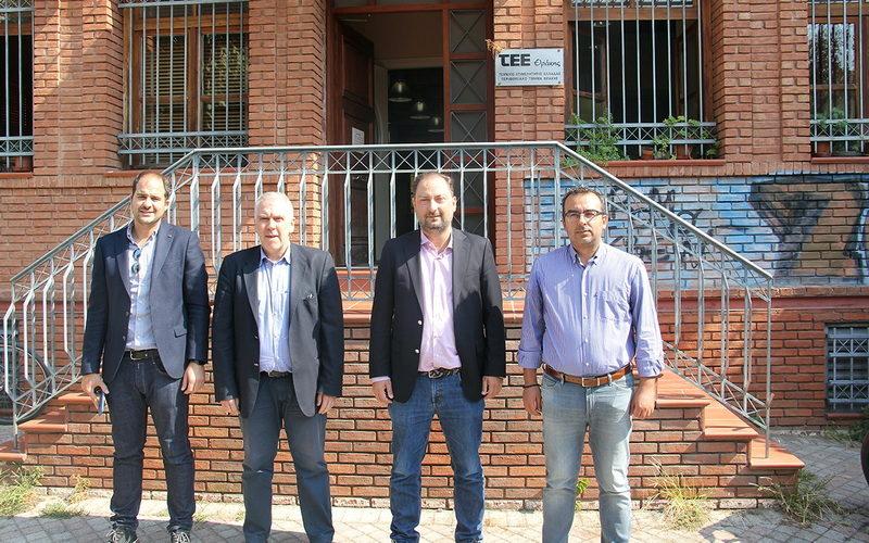 Συνάντηση του Προέδρου της ΔΕΔΑ με το ΤΕΕ Θράκης για τα έργα παροχής φυσικού αερίου