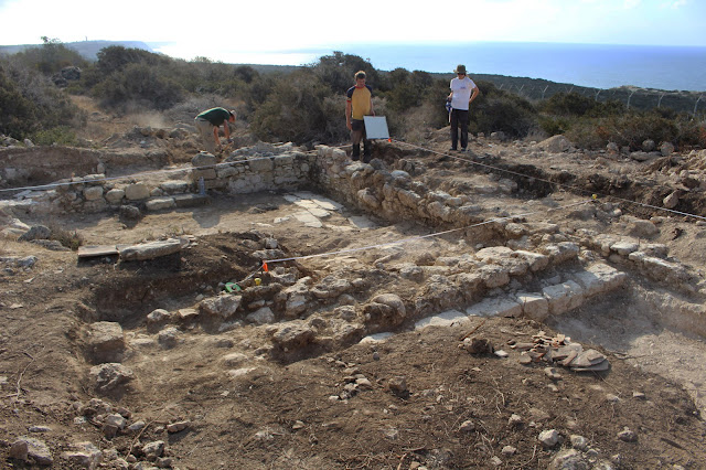 2017 excavations at Akrotiri-Dreamer's Bay, Cyprus