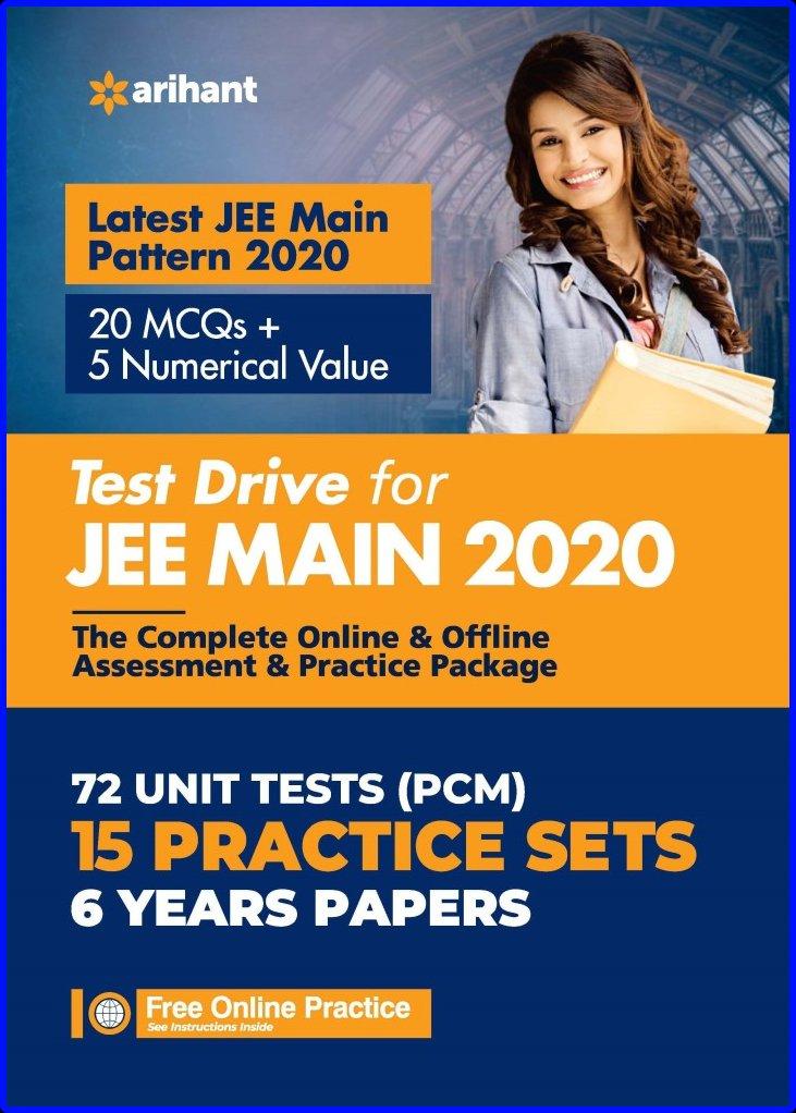JEE Main Test Drive 2020 Pdf Arihant Publications