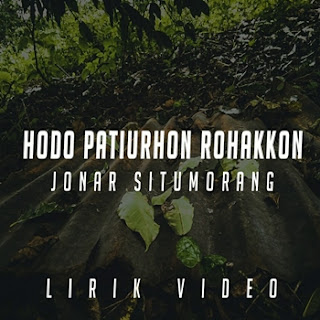 Jonar Situmorang - Ho Do Patiurhon Rohakkon Mp3
