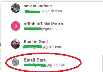 Cara menggunakan banyak email dalam 1 HP