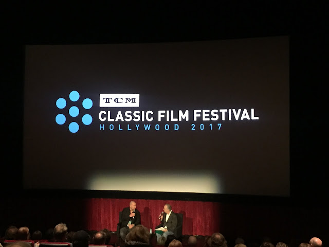 Pierre Simenon and Bruce Golstein at the 2017 TCM Classic Film Festival