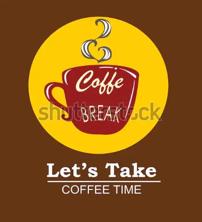 illustration vector logo cafee