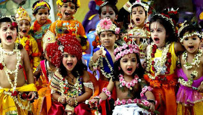Indian Popular Festival - Krishna Janmashtami Celebratin