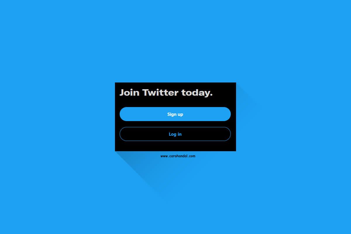 Cara Mudah Membuat Akun Twitter Terbaru Lengkap