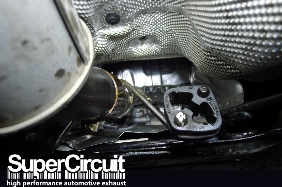 Supercircuit Exhaust Pro Shop Mini Cooper S Clubman F54 Downpipe