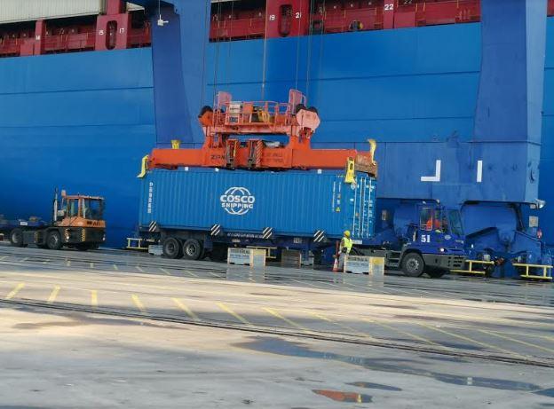 Έσπασε το φράγμα των 5 εκατ. TEU στο λιμάνι του Πειραιά