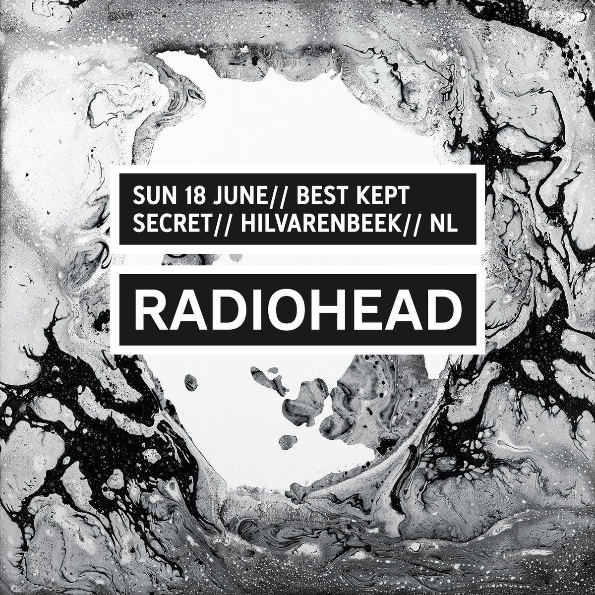 Radiohead Bootlegs Radiohead 2017 06 18 Best Kept Secret Full
