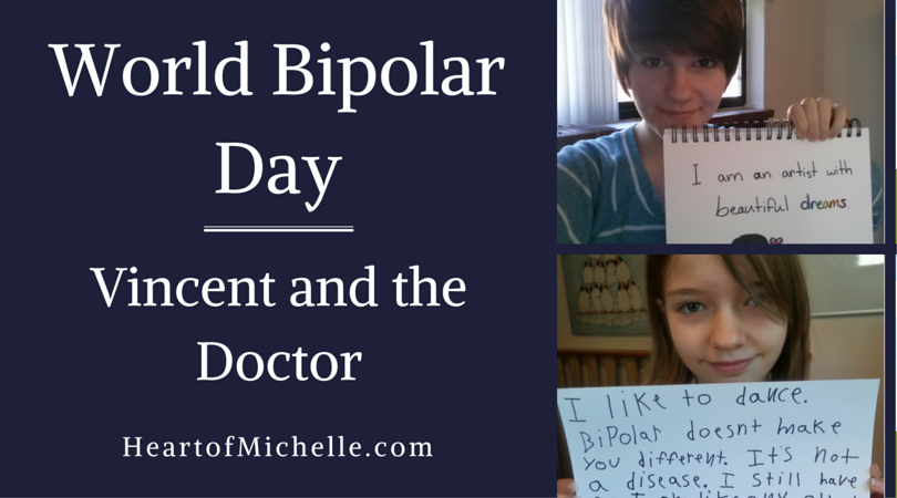 We're celebrating World Bipolar Day with Vincent van Gogh and Doctor Who!