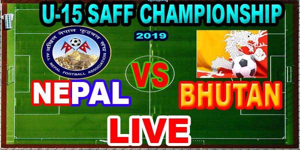Nepal vs Bhutan Live football
