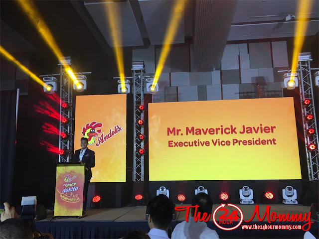 Andoks - Executive Vice President - Maverick Javier