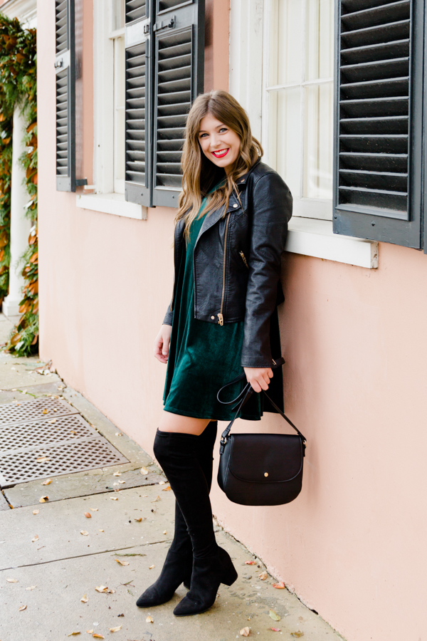 3 Ways To Style A Velvet Dress For The Holidays - Chasing Cinderella