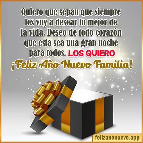 feliz año nuevo familia 2022
