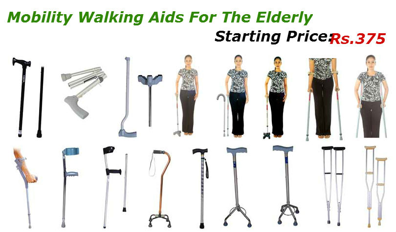 Mobility Walking Aids For The Elderly Wheelchair India