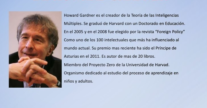 howard gardners mi The origin of multiple intelligences theory howard gardner's theory of multiple intelligences has been evolving since 1983, when he proposed it.