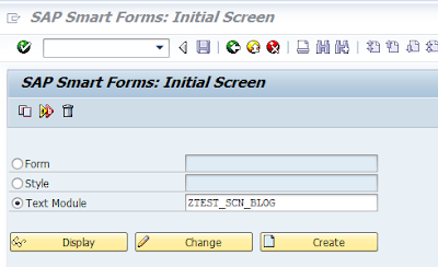 Text Types used in Smartforms