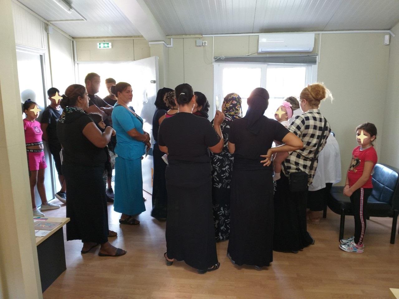 Εμβολιασμός παιδιών από το Κέντρο Κοινότητας - Παράρτημα Ρομά Δήμου Τυρνάβου