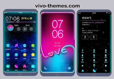 Starry Love Theme For Vivo Android