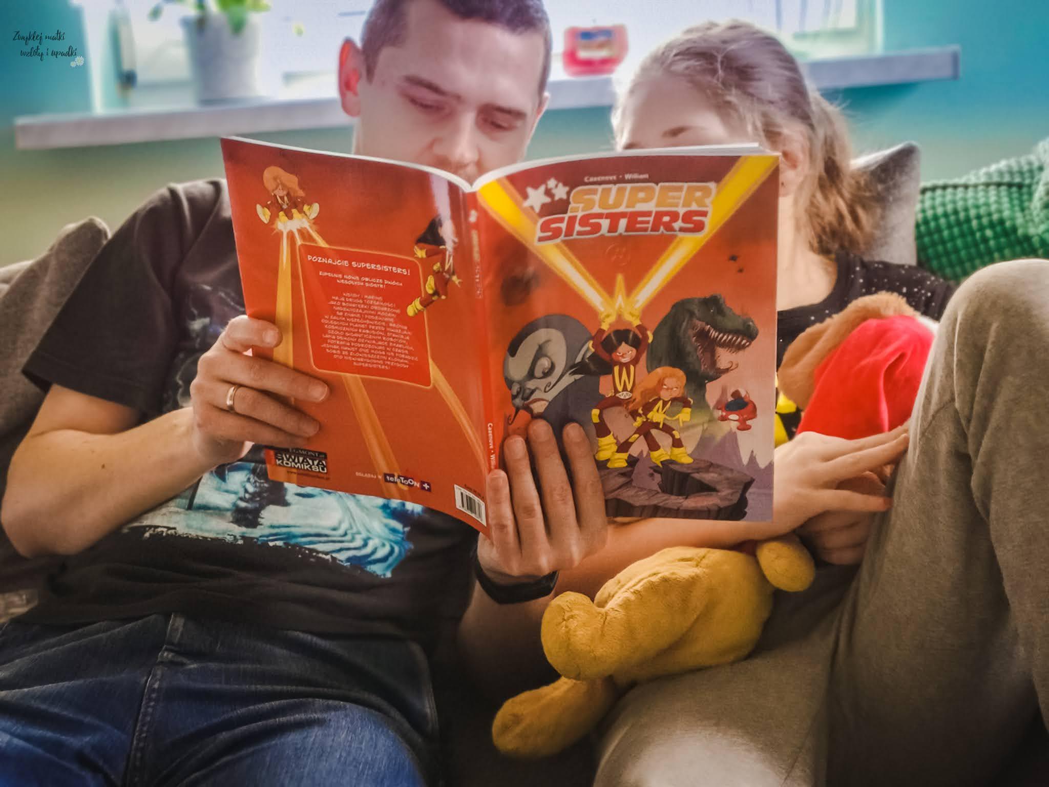 Noworoczne postanowienia - jeszcze więcej komiksów z Egmontu, Super Sisters, Asteriks i Obeliks
