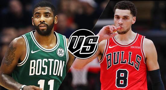 Live Streaming List: Boston Celtics vs Chicago Bulls 2018-2019 NBA Season