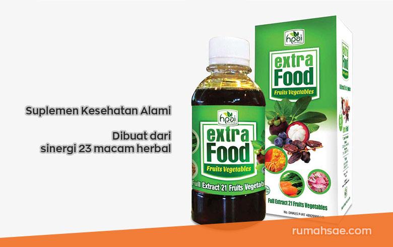 Review Extra Food HNI HPAI, Suplemen Kesehatan Alami Dibuat dari 23 Macam Herbal