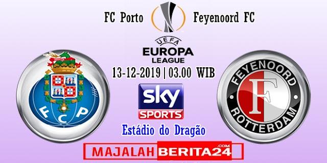 Prediksi Porto vs Feyenoord — 13 Desember 2019