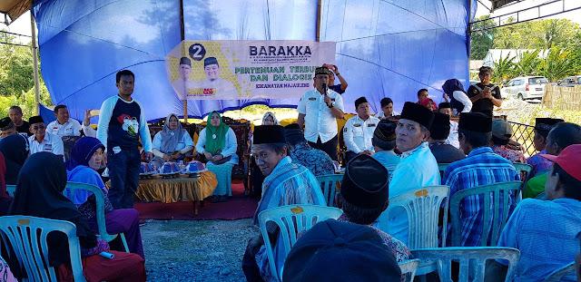Berkunjung ke Kampung Halaman, BARAKKA Komitmen Sejahterakan Rakyat